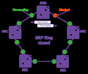 MRP Ring blocked