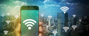 smart phone and wireless communication, internet of things, abstract image visual